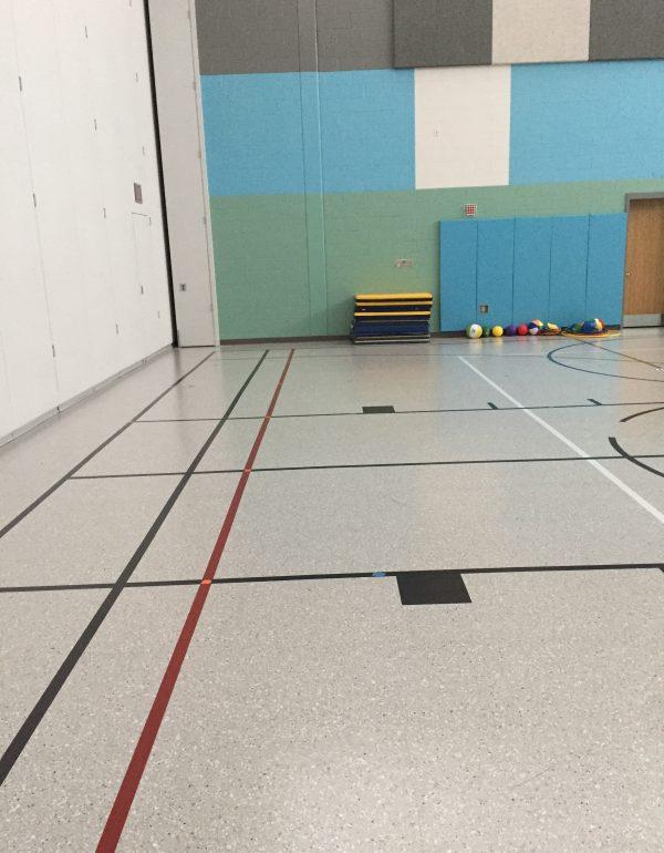 Colgate Elementary School Upofloor Quartz Tile