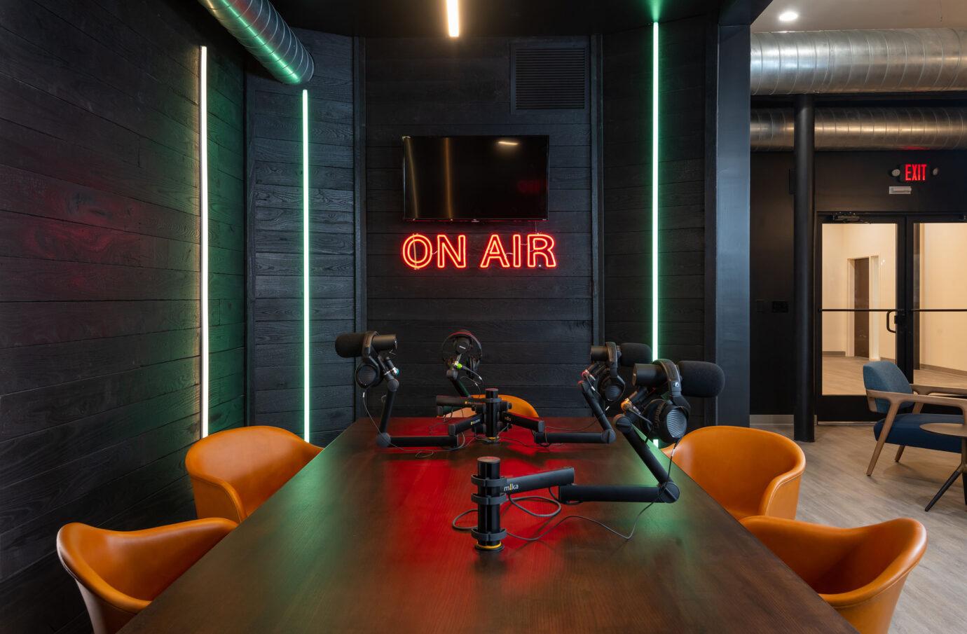 5 N. Main Podcast Studio